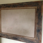 framed canvas whiteboard